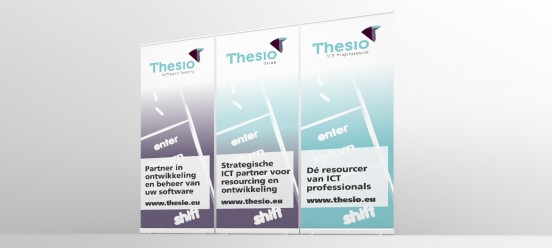 Thesio rollup banners