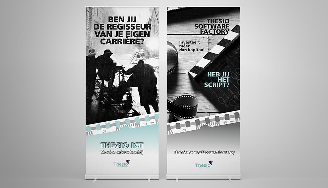 Rollup banner TSF en ICT